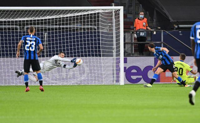 Samir Handanović je napadalcem Getafeja preprečil veselje. FOTO:Ina Fassbender/AFP
