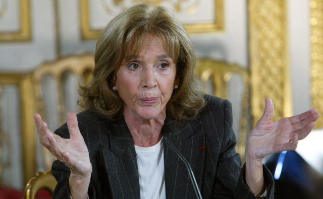Gisèle Halimi je bila odločna zagovornica ideje, da mora v zvezi z nasiljem nad ženskami »sram preiti na drugo stran«. FOTO: Jack Guez/AFP