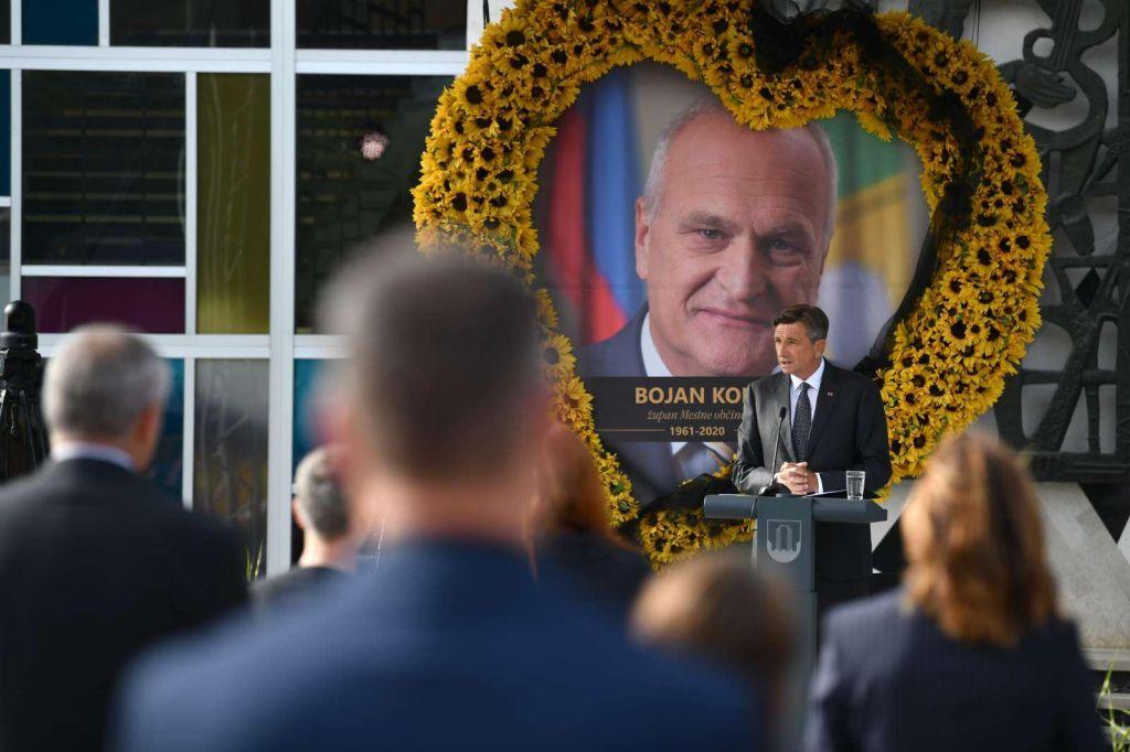 Pahor: »Bojan Kontič je razumel politiko kot servis za ljudi.«
