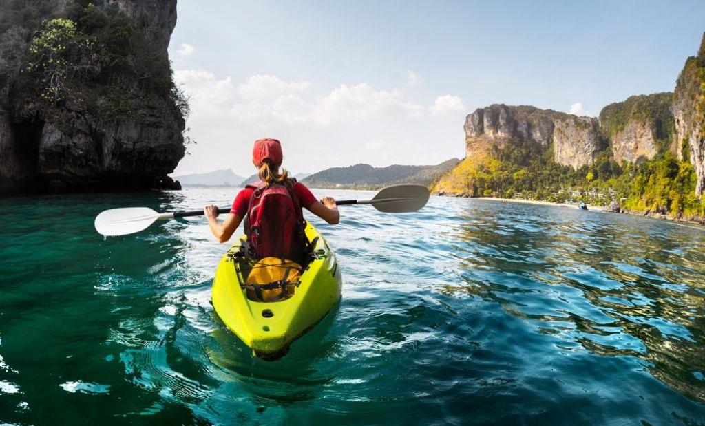 FOTO:Potovalni kajaki za vplutje v srčiko narave