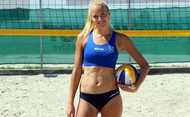 Serijska državna prvakinja Tjaša Kotnik meri na tokijsko olimpijsko udeležbo. FOTO: Igor Mali
