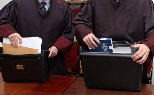 Nekateri odvetniki so prepričani, da bi bila sodišča tako med epidemijo kot po njej lahko učinkovitejša. FOTO: Dejan Javornik/Slovenske novice