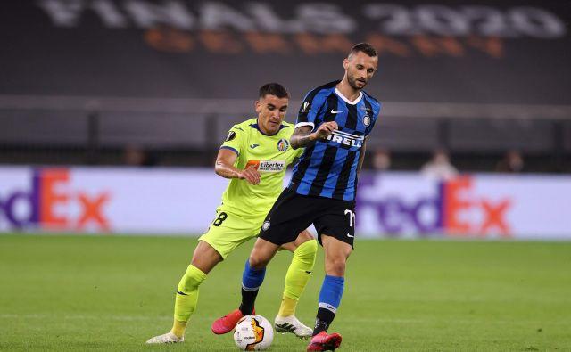 Je bila sredina tekma z Getafejem ena od zadnjih Brozovićevih v črno-modrem dresu? FOTO: Lars Baron/AFP