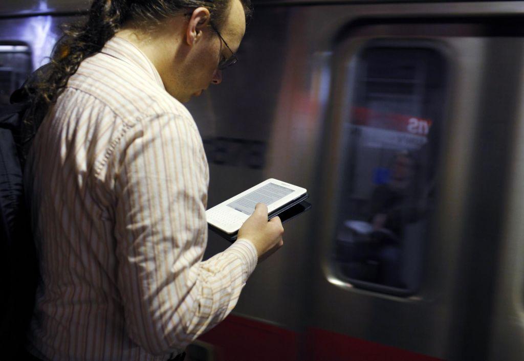 Prodaja e-knjig v ZDA že peto leto usiha