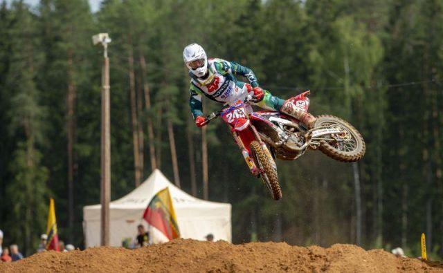 Tim Gajser je že dvakrat zmagal v Latviji. Foto Honda Racing