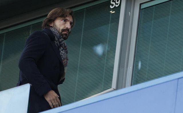 Andrea Pirlo se je čez noč znašel v zelo odgovorni vlogi trenerja Juventusa. Foto Reuters