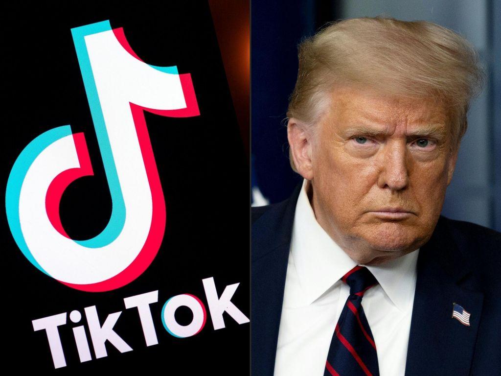 Trump Američanom prepovedal uporabo tiktoka