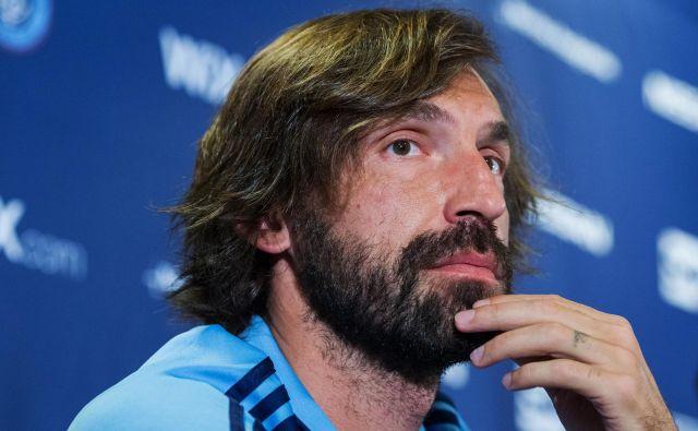 Andrea Pirlo bo prevzel Juventus. FOTO: Munoz Alvarez/AFP