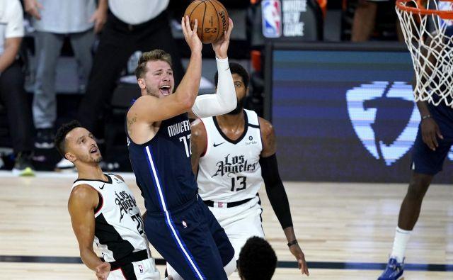 Luka Dončič je nazadnje proti LA Clippers dosegel 29 točk. FOTO: Ashley Landis/USA TODAY Sports