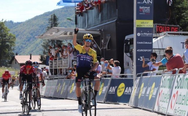 Primož Roglič se je v velikem slogu vrnil na mednarodno sceno. FOTO: Tour de l'Ain