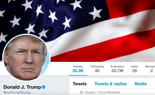 Donald Trump, zvezda med tviteraši, ki prisegajo, da je vse dovoljeno. Foto: Handout/Reuters