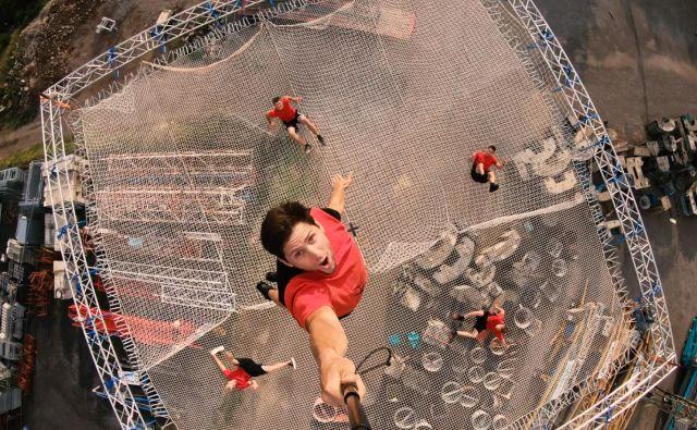 Fantje iz Dunking Devils so znova dokazali, da njihove akrobacije ne poznajo meja. FOTO: Arhiv Dunking Devils