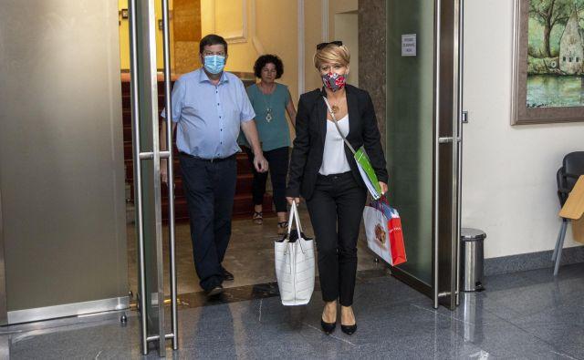 Vseh pet poslancev Desusa je obrnilo hrbet predsednici stranke. FOTO:Voranc Vogel/Delo