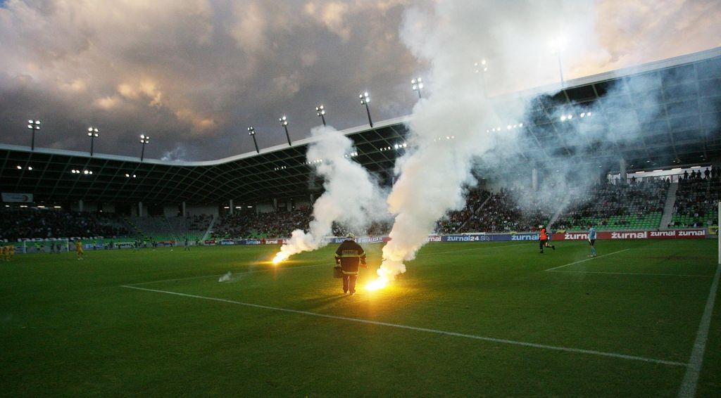 FOTO:Olimpija in Maribor sama sebi največji problem