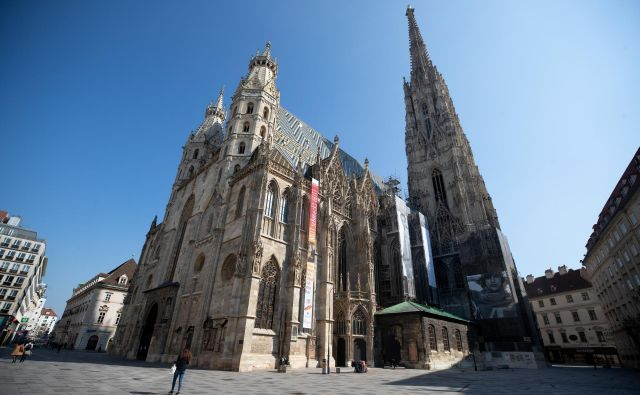Včeraj so na Dunaju potrdili 71 novih okužb. FOTO: Lisi Niesner/Reuters