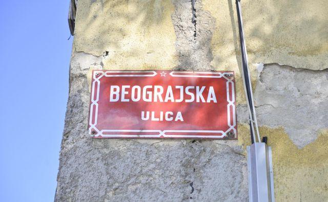 Beograjska ulica v Mariboru. FOTO: Marko Pigac