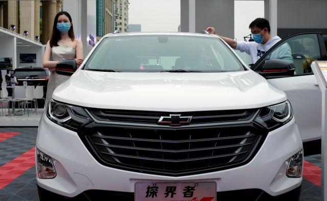 Julija se je prodaja avtomobilov na Kitajskem povečala že četrti mesec zapored. Foto Sun Yilei/Reuters