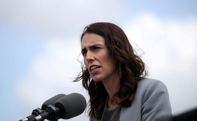 Novozelandska premierka Jacinda Ardern. FOTO: Loren Elliott/Reuters
