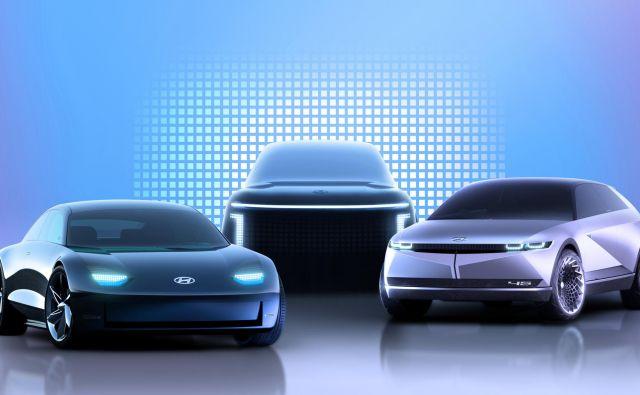 Hyundai bo model ioniq pretvoril v samostojno znamko, ki bo posvečena le električnim modelom. Foto Hyundai
