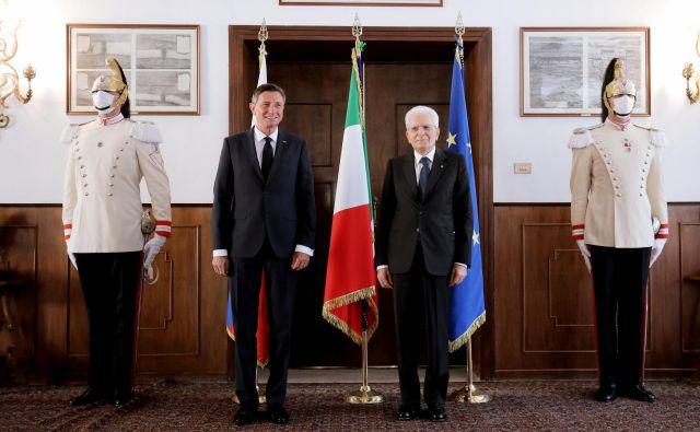 Vendarle dejanje obeh predsednikov jemljem kot poskus nekega novega začetka obeh narodov pri obravnavi preteklosti. Foto Daniel Novaković/STA