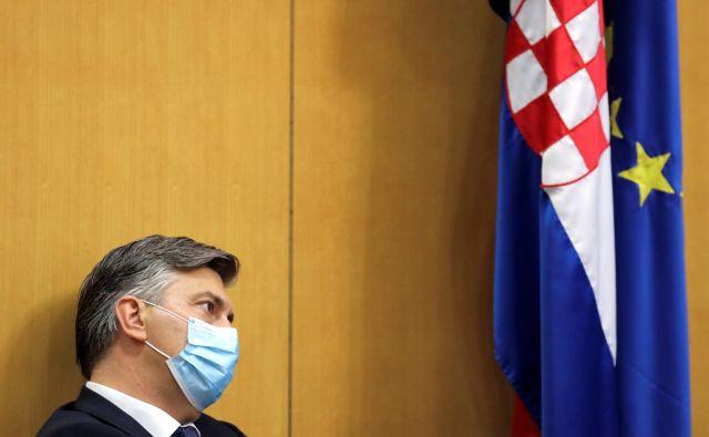 Hrvaški premier Andrej Plenkovićje proevropski politik, birokrat, elokventen v več tujih jezikih. Hrvaško obrača proti evru in schengnu, prijatelje ima v Bruslju in v evropskih prestolnicah.<br /> Foto: Antonio Bronić/Reuters