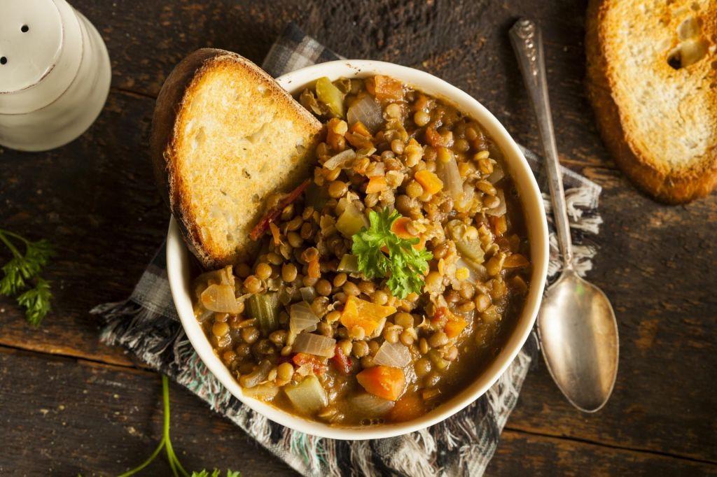 Lečina juha v boju proti kilogramom