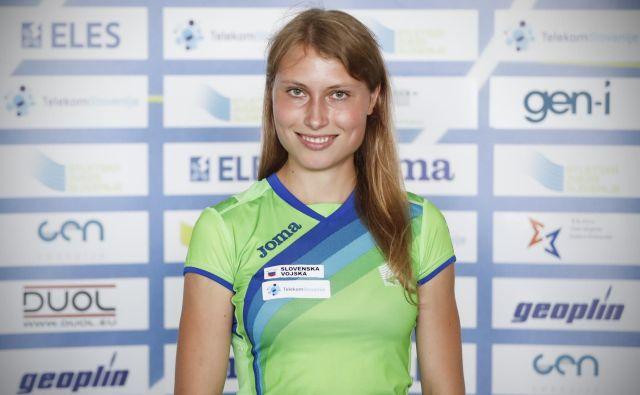 Maruša Mišmaš Zrimšek je letos postavila dva državna rekorda. FOTO: Uroš Hočevar/Delo