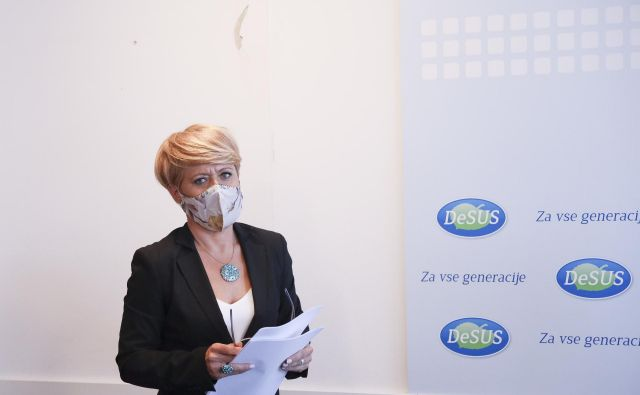 Aleksandra Pivec. FOTO: Jože Suhadolnik/Delo