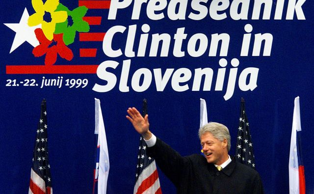 Bill Clinton je bil prvi ameriški predsednik na obisku v samostojni Sloveniji FOTO: Michael Leckel/Reuters