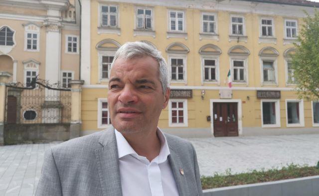 Aleksander Saša Arsenovič, župan Maribora:»Opiramo se na lastne sile in evropski denar, a tudi država bo morala pravilno razporejati denar« Foto Milena Zupanič