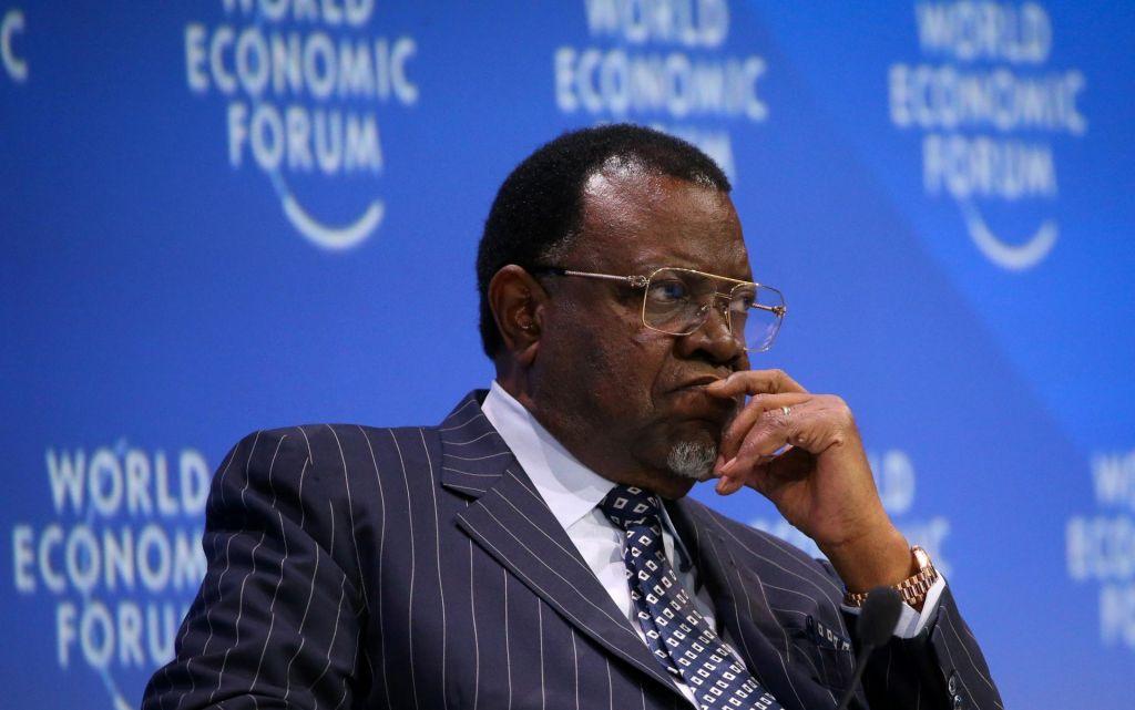 Namibijski predsednik: Nemška ponudba še ni dovolj visoka
