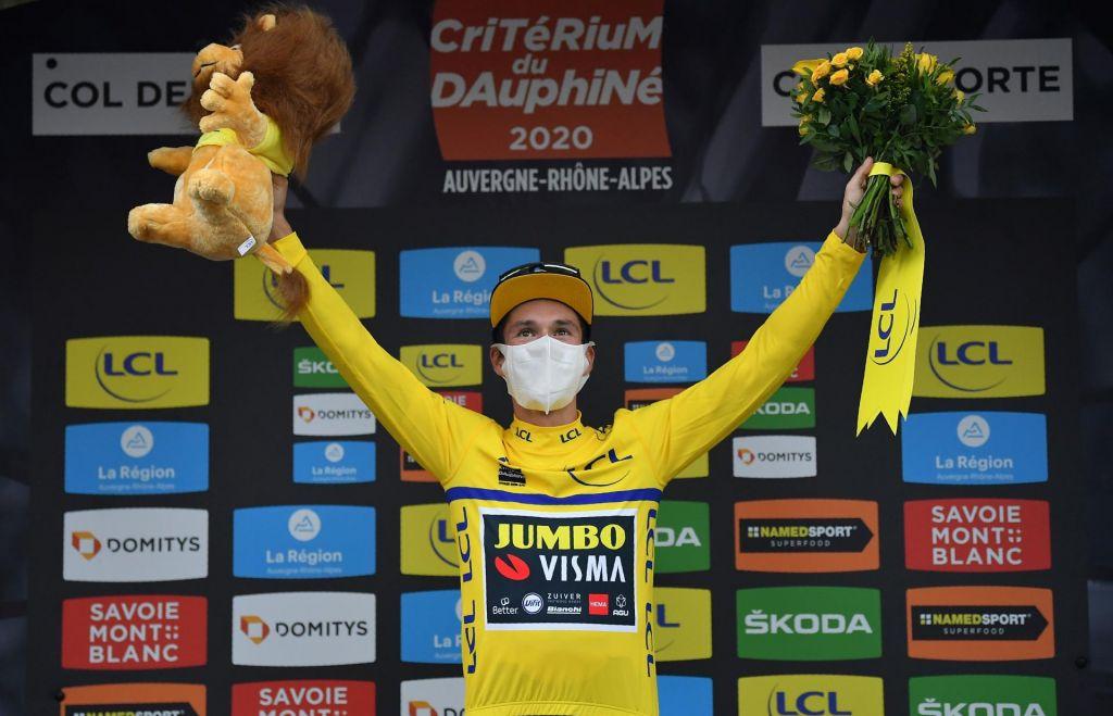 FOTO:Rogličeva rapsodija se nadaljuje, 40. zmaga in rumena majica