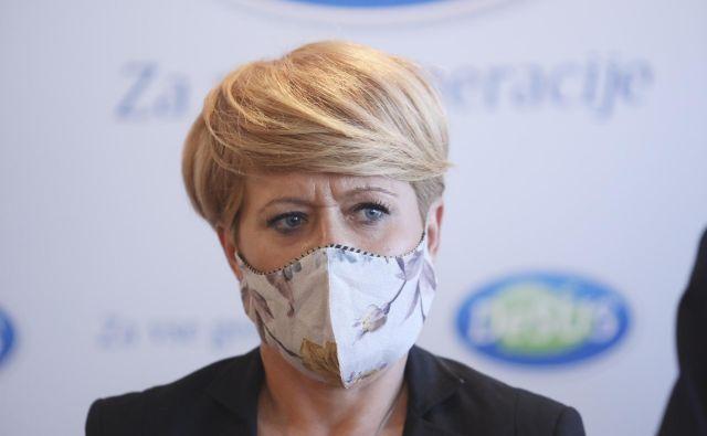 Aleksandra Pivec je naklonjena sklicu kongresa. FOTO: Jože Suhadolnik/Delo