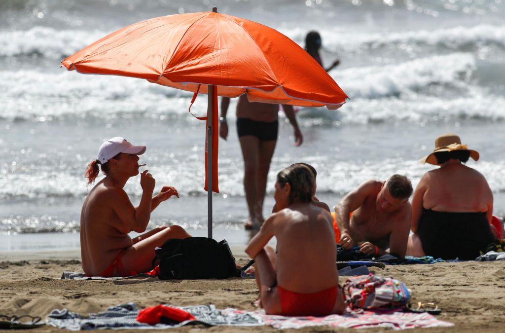 FOTO:Nemčija Španijo z izjemo Kanarskih razglasila za tvegano območje