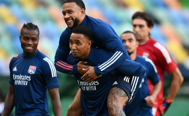 Memphis Depay je v dobri strelski formi. FOTO: Franck Fife/AFP