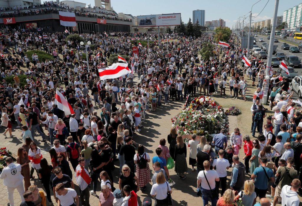 Beloruski voditelj išče podporo Kremlja