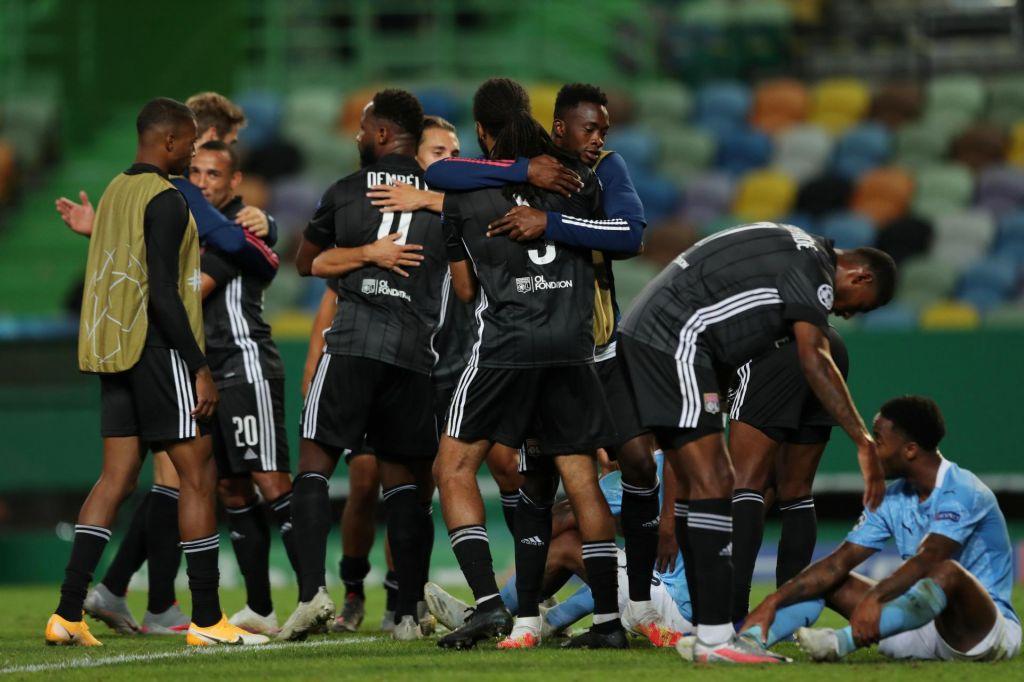 FOTO:Lyon končal še Cityjeve sanje o evropskem naslovu