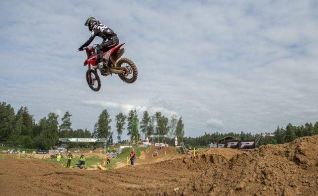 Tim Gajser ostaja pri 19 zmagah v MXGP. FOTO: Honda Racing