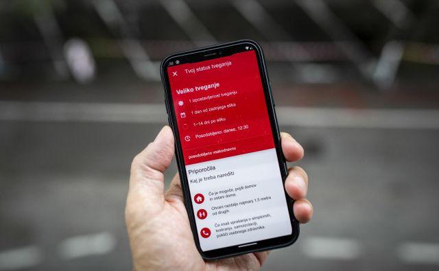 Med internim testiranjem mobilne aplikacije ministrstvo za javno upravo in podjetje RSteam doslej naj ne bi zaznali težav. FOTO: Voranc Vogel