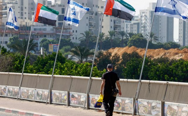 Izrael in ZAE so z dogovorom le utrdili stanje stvari. Foto: Jack Guez/Afp