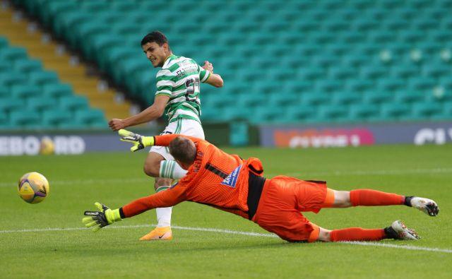Škotski prvak Celtic ničesar ni prepustil naključju in s pol ducata golov dosegel najvišjo zmago v sinočnjih tekmah 1. kola kvalifikacij za ligo prvako. FOTO: Russell Cheyne/Reuters