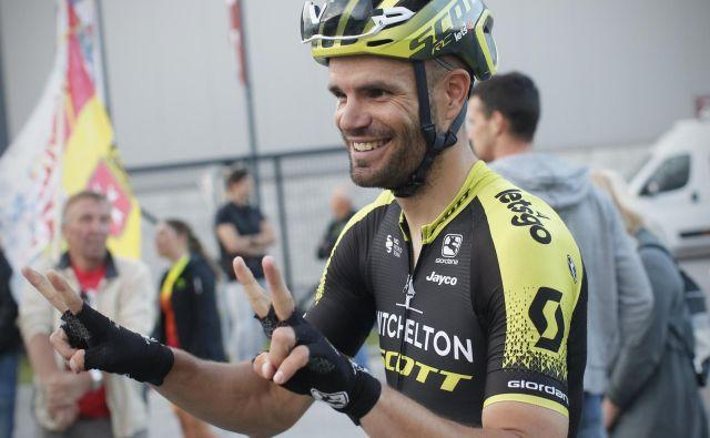 Luka Mezgec bo pri 32 letih prvič nastopil na Touru. FOTO: Jure Eržen/Delo