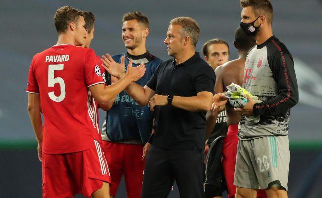 Hansi Flick na zadnjih 29 tekmah na Bayernovi klopi še ni doživel poraza. FOTO: Miguel A. Lopes/Reuters