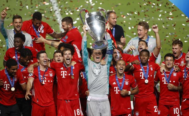 Enajst tekem, enajst zmag. Bayern je zasluženo evropski prvak. FOTO: Matthew Childs/Reuters