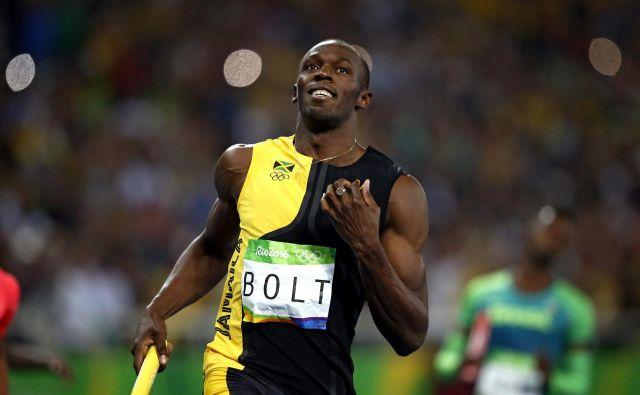 Usain Bolt je bil vrsto let vodilni zvezdnik svetovne atletike. FOTO: Matej Družnik/Delo