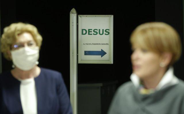 Poslanska skupina ne želi sodelovati z njo. FOTO: Jure Eržen/Delo