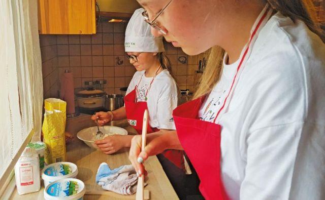 Kuhanje je odličen način za kakovostno preživljanje časa z otroki. FOTO: SPAR