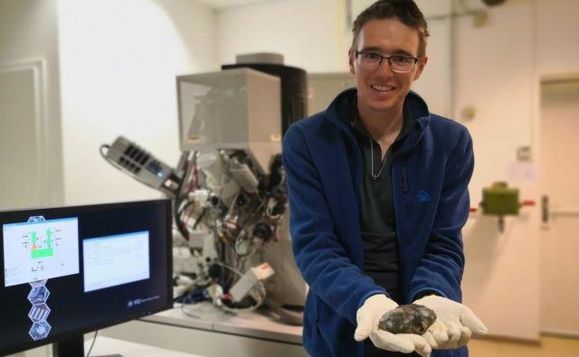 Bojan Ambrožič je magister inženir geologije, zaposlen v Centru odličnosti nanoznanosti in nanotehnologije. FOTO: Osebni arhiv