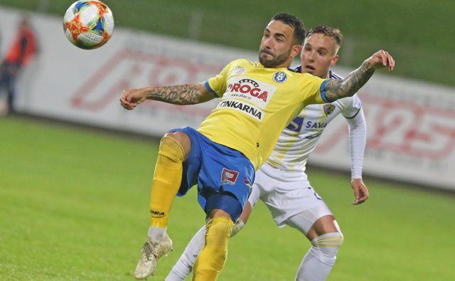 Mitja Lotrič je dosegel edini gol za Celjane. FOTO: Tadej Regent