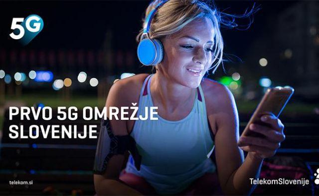 5G uporabnikom prinaša veliko večje hitrosti prenosa podatkov v obeh smereh. FOTO: Telekom Slovenije